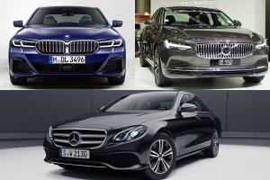 มีเงิน 3 ล้านจะซื้ออะไรดี 2021 BMW 5-series, Volvo S90, Benz E-class มีคำตอบให้แบบไม่อวย
