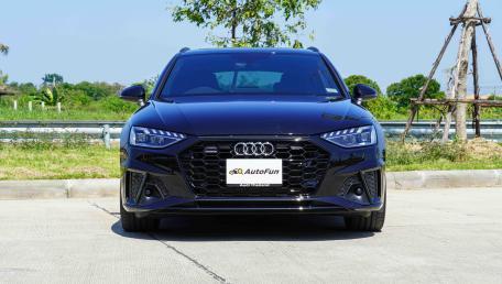 2021 Audi A4 Avant 2.0 45 TFSI Quattro S Line Black Edition ราคารถ, รีวิว, สเปค, รูปภาพรถในประเทศไทย   AutoFun
