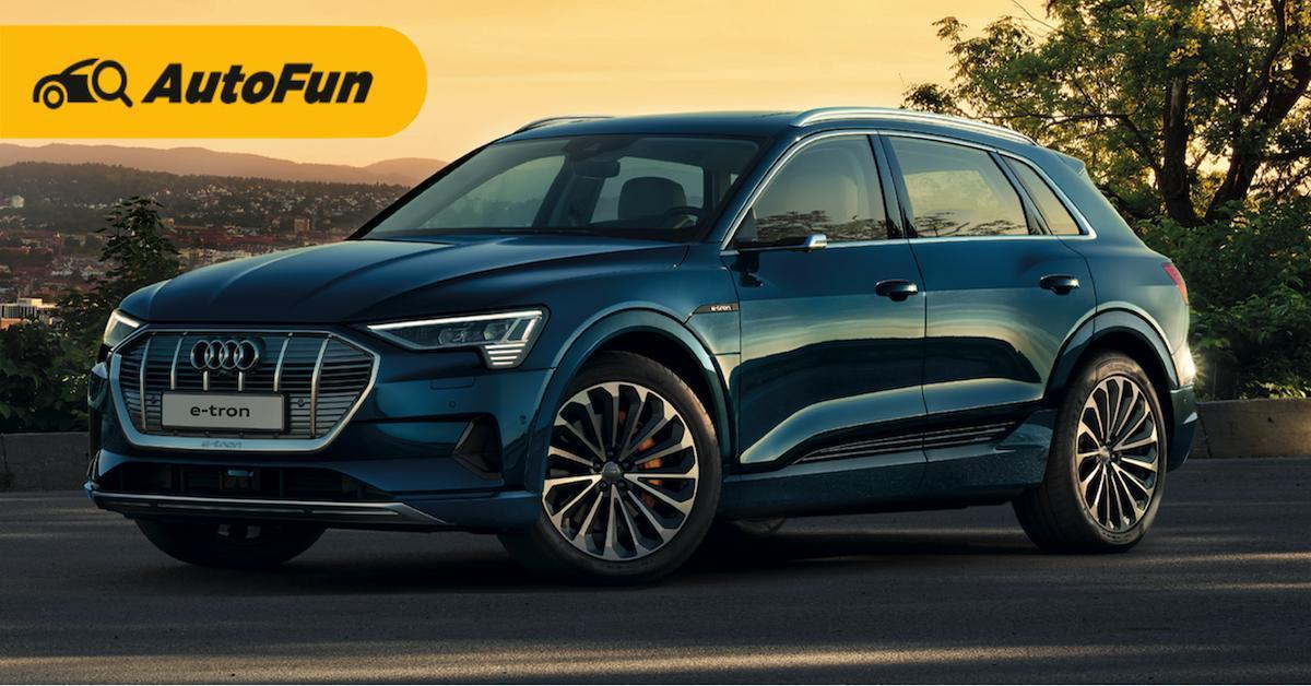 Review: 2019-2020 Audi e-tron เอสยูวีพรีเมียมพลังงานไฟฟ้า 01