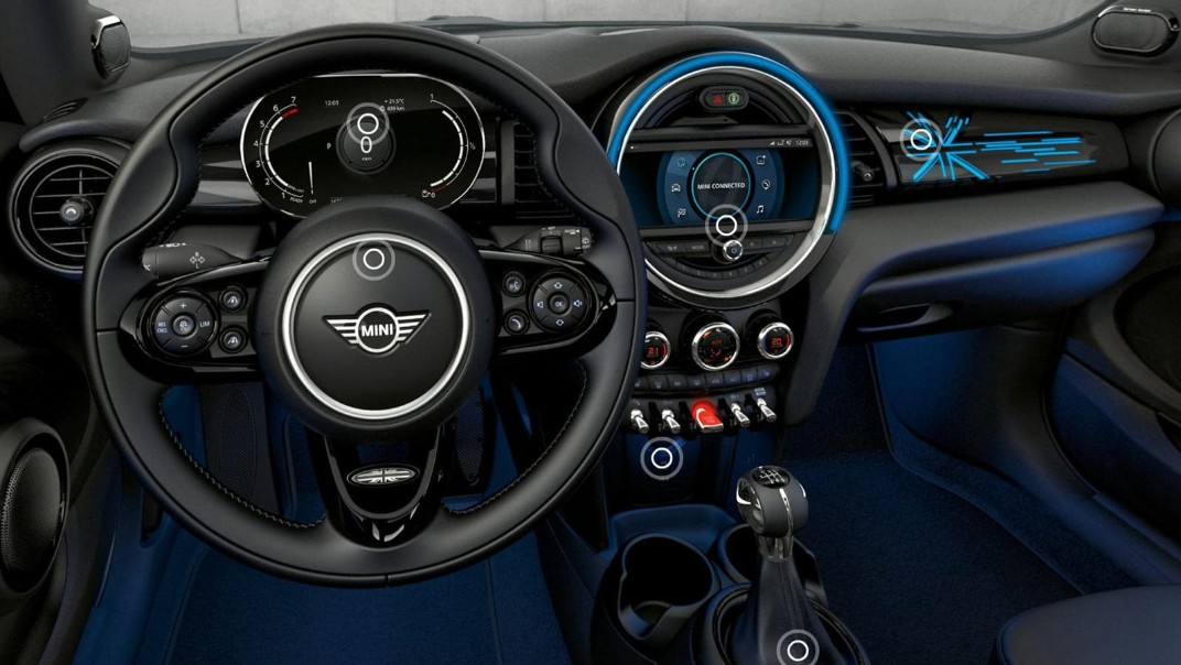 Mini 3-Door-Hatch 2020 Interior 002