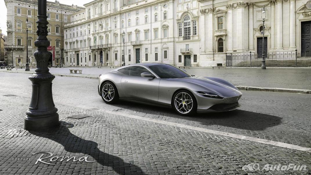 2020 3.9 Ferrari Roma Turbo Exterior 004