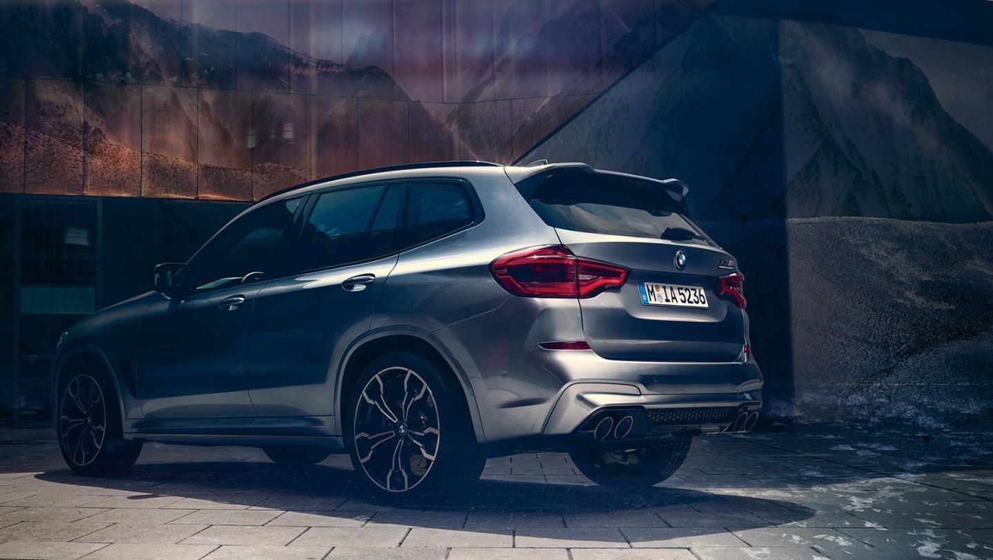 BMW X3-M 2020 Exterior 014