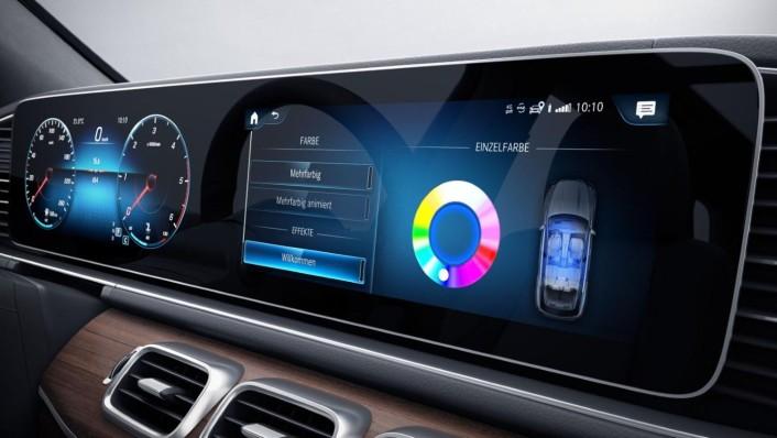 Mercedes-Benz GLE-Class 2020 Interior 006