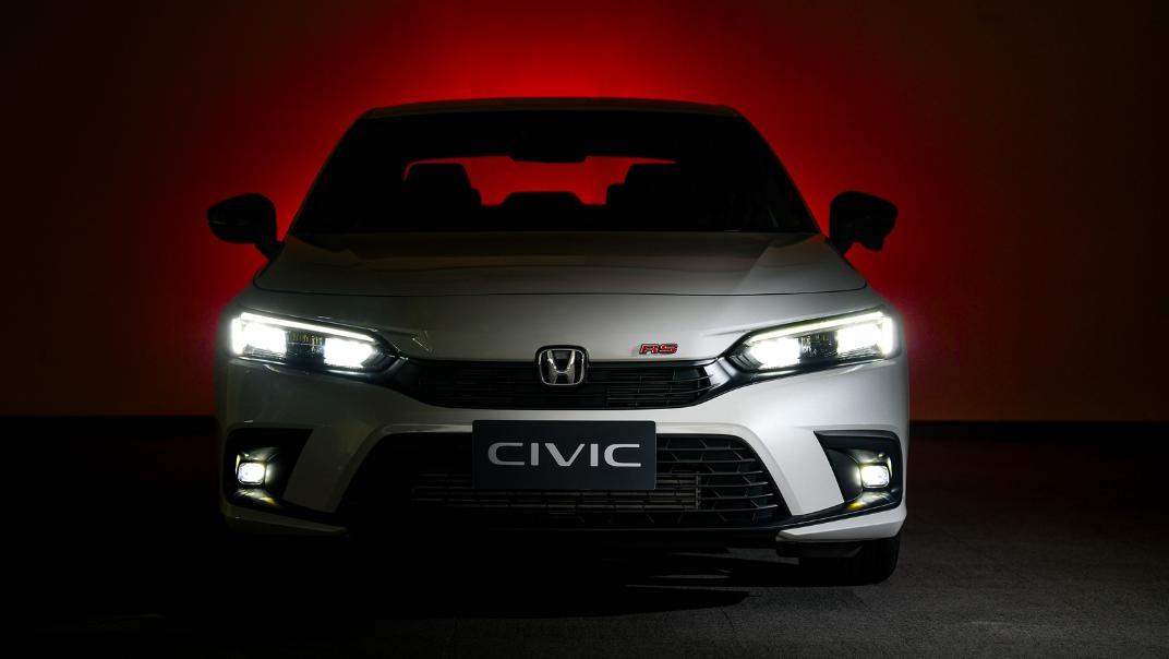 2022 Honda Civic RS Exterior 011
