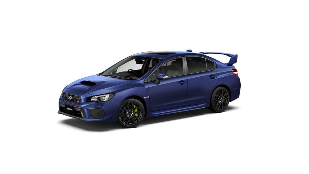 Subaru WRX-STI 2020 Exterior 017