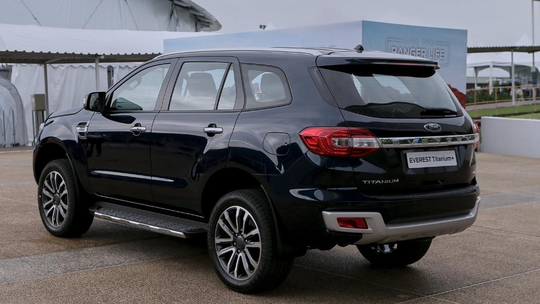 2021 Ford Everest Titanium+ Exterior 004