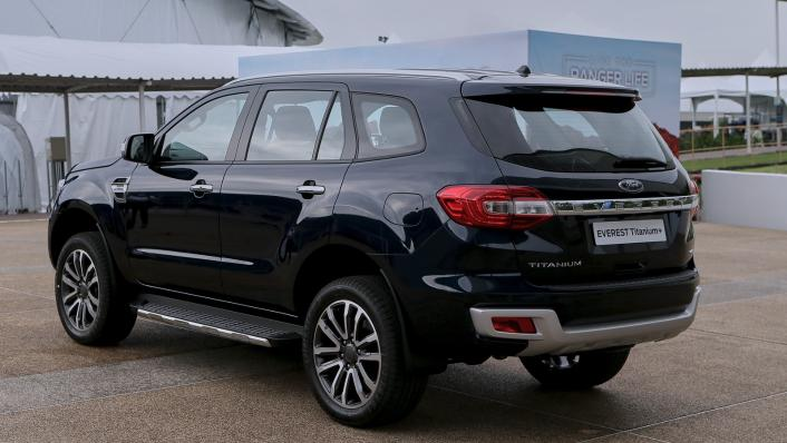 2021 Ford Everest Titanium+ Exterior 004