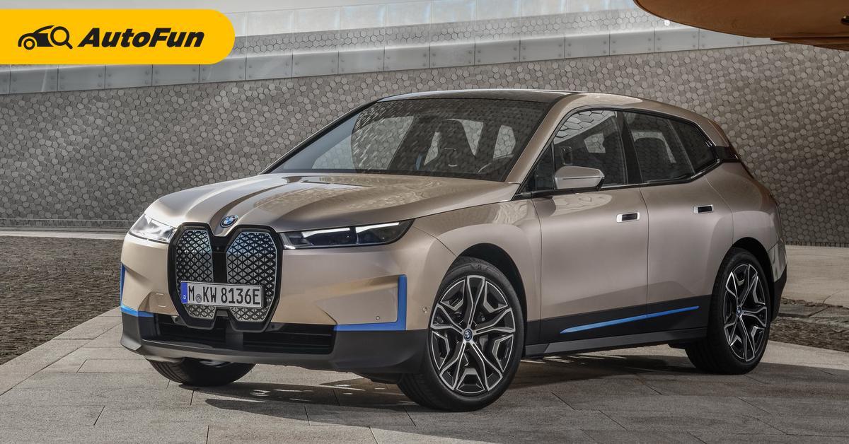 เผยโฉม 2022 BMW iX รถเอสยูวีไฟฟ้าที่ดีที่สุดเวลานี้? เบียด Audi e-tron 01