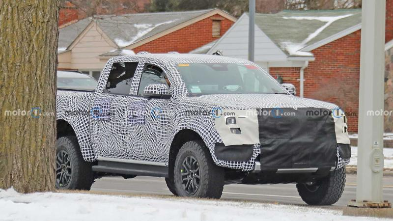 สปายช็อตแรก 2022 Ford Ranger Raptor คงความน่าเกรงขามจนกระบะคู่แข่งต้องหลีกทาง 02