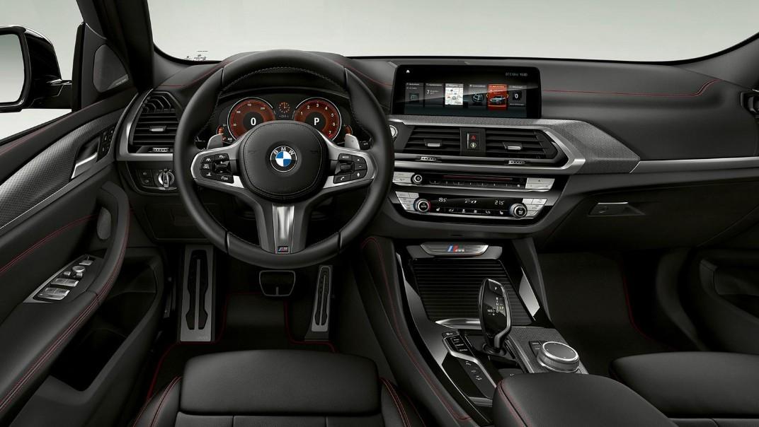 BMW X4-M Public 2020 Interior 001