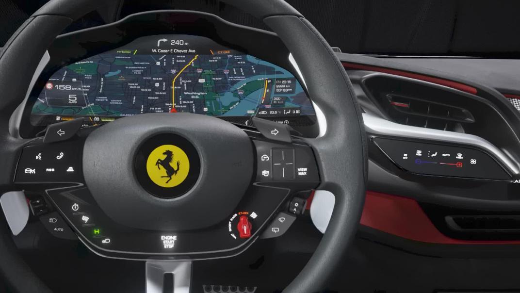 2020 Ferrari SF90 Stradale 4.0 V8 Interior 003