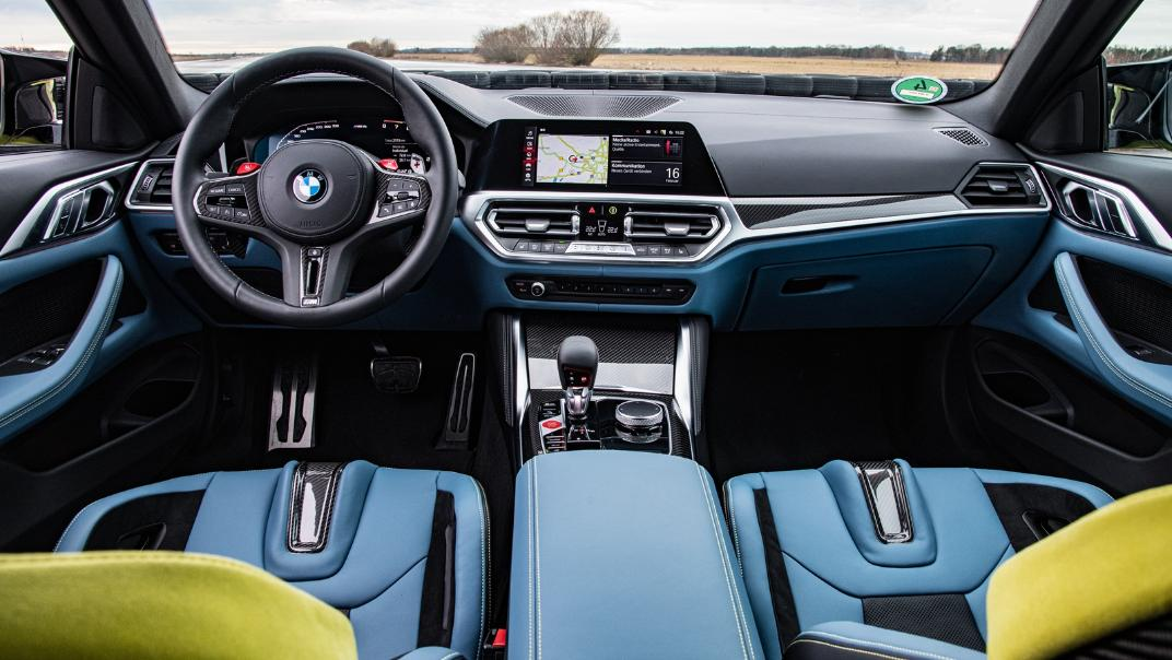 2021 BMW M4 Coupe Competition Interior 001