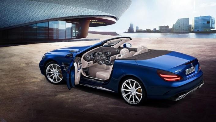 Mercedes-Benz Sl Roadster 2020 Exterior 006
