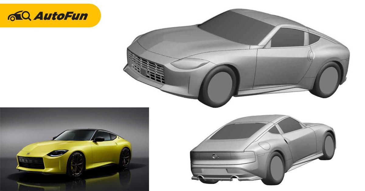 เทียบกันชัด ๆ Nissan Z เวอร์ชั่นต้นแบบ vs ภาพสิทธิบัตรเตรียมขายจริงปีนี้ 01