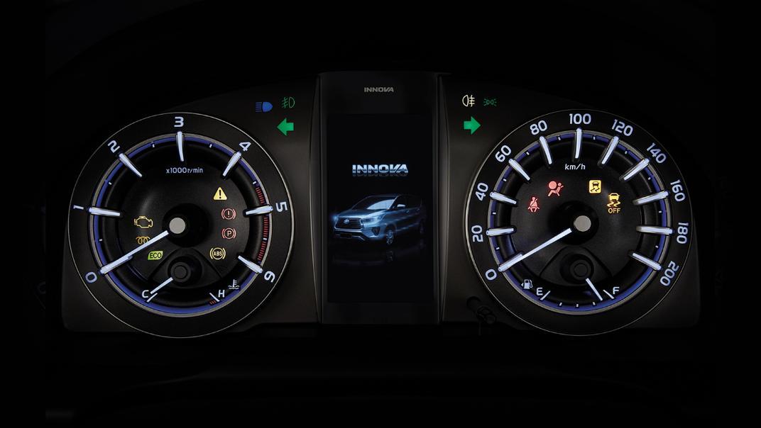 2021 Toyota Innova Crysta Interior 003