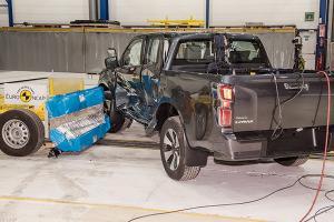 พลานุภาพ แคล้วคลาด 2020 Isuzu D-Max ทดสอบความปลอดภัย Euro NCAP ได้ 5 ดาว