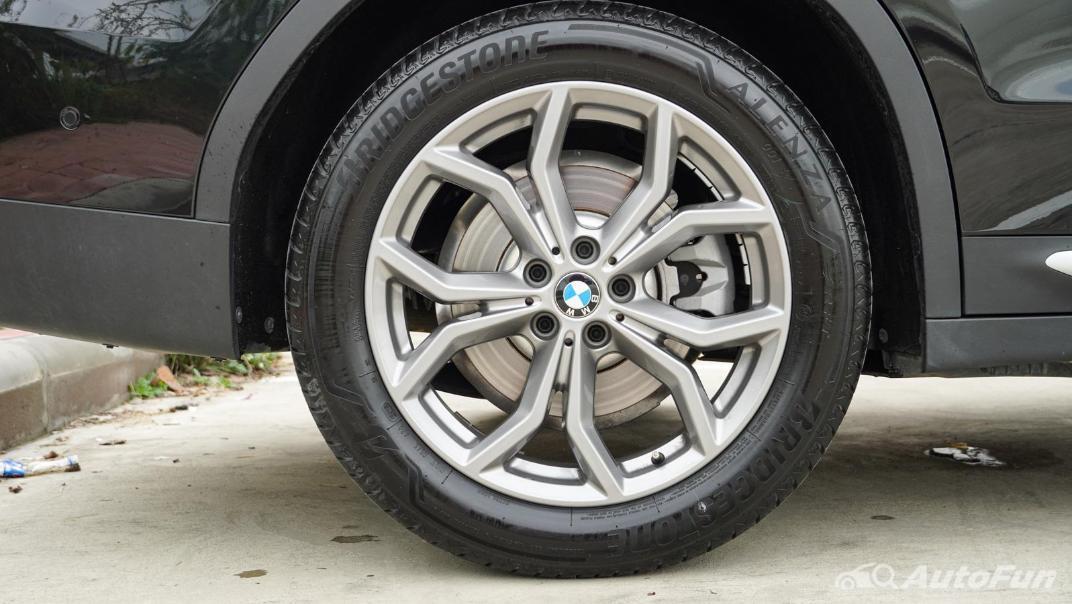 2020 2.0 BMW X3 xDrive20d M Sport Exterior 041