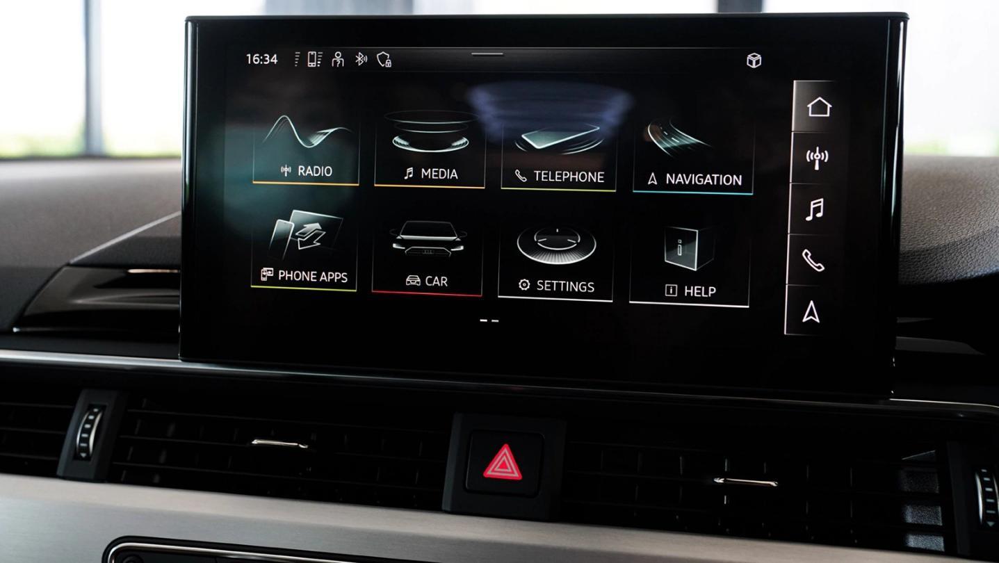Audi A5 Public 2020 Interior 004