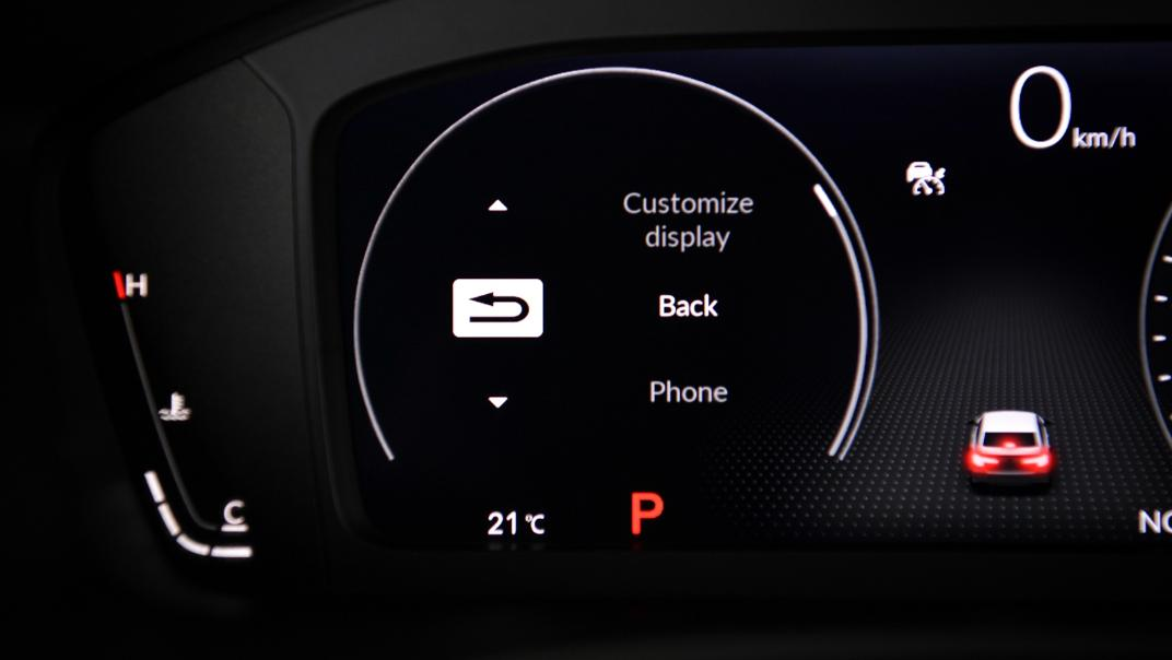 2022 Honda Civic RS Interior 043
