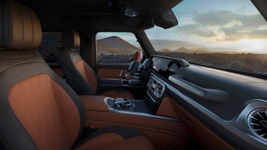 Mercedes-Benz G-Class 2020 Interior 017