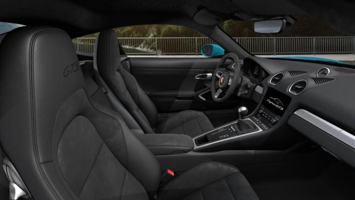 Porsche 718 2020 Interior 004