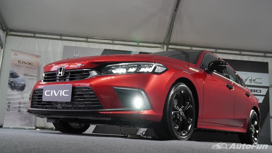 2022 Honda Civic RS Exterior 072