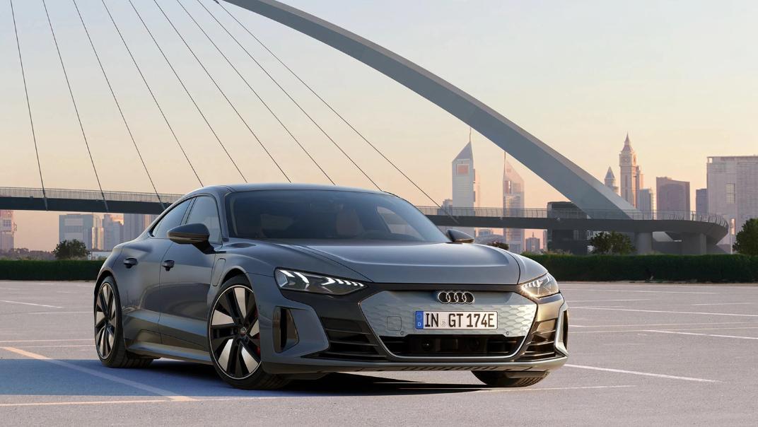 2021 Audi e-tron GT quattro Exterior 003