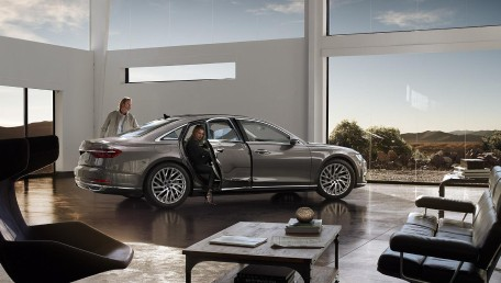 2021 Audi A8 L 3.0 55 TFSI Quattro Premium ราคารถ, รีวิว, สเปค, รูปภาพรถในประเทศไทย | AutoFun