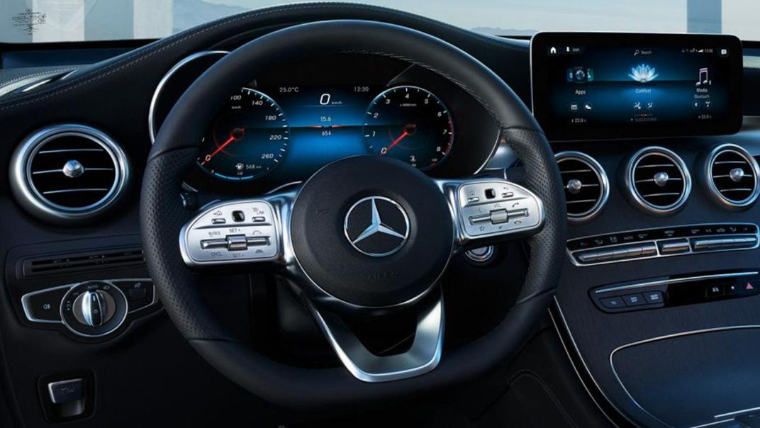 Mercedes-Benz GLC-Class Coupe 2020 Interior 003