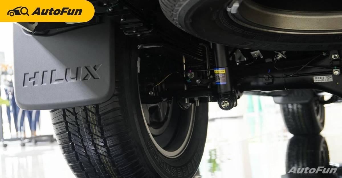 โช๊ค Monotube มีดีอย่างไร ต่างกับ Twin-tube แค่ไหน ถึงได้ใช้ใน Toyota Hilux Revo GR Sport 01