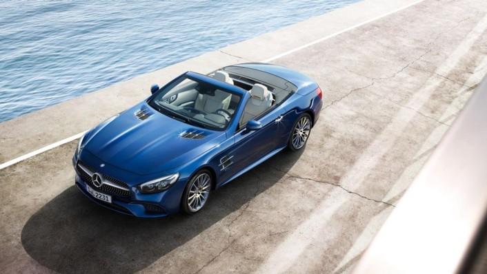 Mercedes-Benz Sl Roadster 2020 Exterior 009