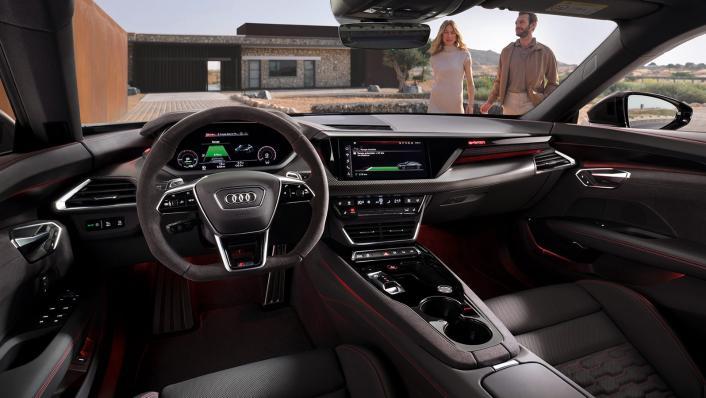 2021 Audi RS e-tron GT quattro Interior 001