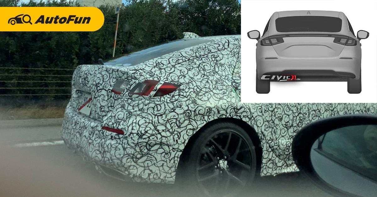 ซีดานน่าเบื่อใช่ไหม? 2022 Honda Civic Hatchback จ่อเผยโฉมมิถุนายนนี้ – ราคาสูงขึ้น 01