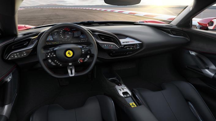 2020 4.0 Ferrari SF90 Stradale V8 Interior 001