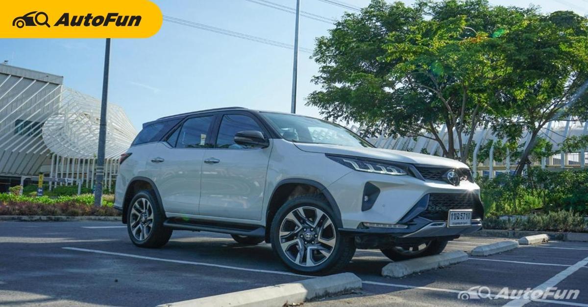 ส่องค่าบำรุง 2021 Toyota Fortuner ฟรีเช็คระยะ 5 ปีไม่เกิน 30,000 บาท 01