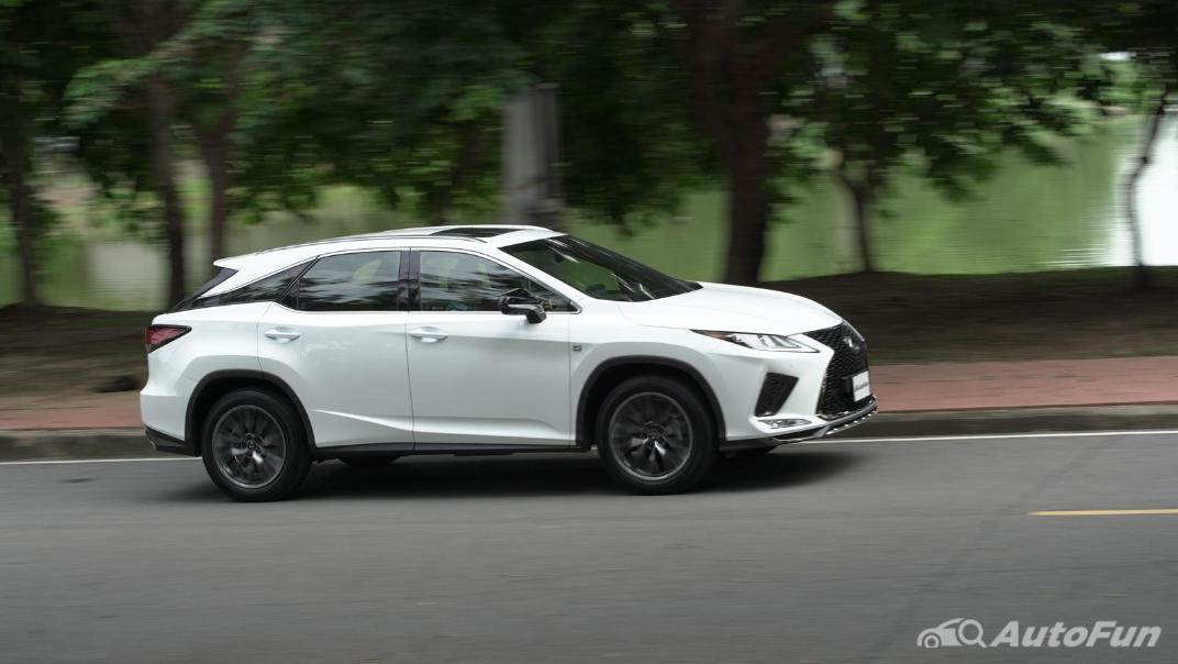 2020 Lexus RX 3.5 350 F Sport Exterior 060