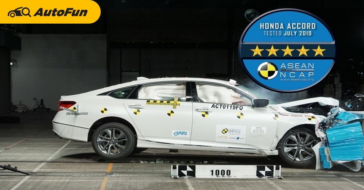 Honda Accord คว้ารางวัลความปลอดภัย ASEAN NCAP Grand Prix Awards 2020 และ Toyota กวาดรางวัลไปมากที่สุด 01