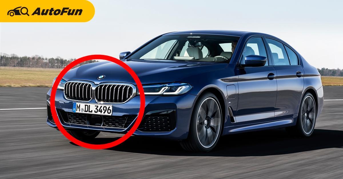2021 BMW 5-Series ออกแบบดูเทอะทะ แต่ชนะ Tesla Model 3 ตรงการลู่ลมดีกว่าซะงั้น 01