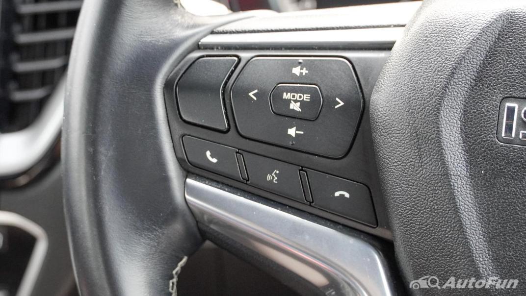 2020 Isuzu D-Max V-Cross 3.0 Ddi M AT 4-Door Interior 005
