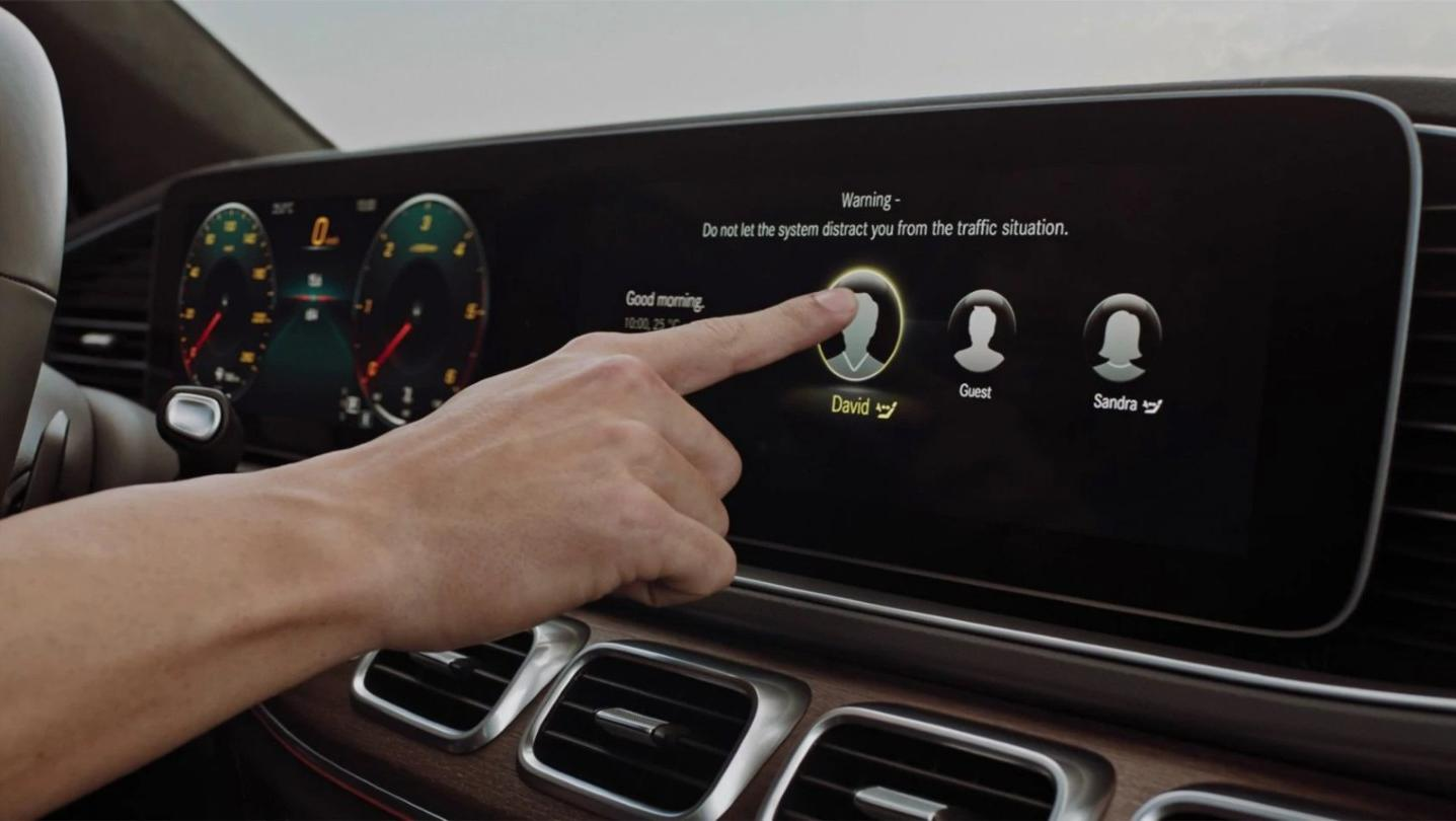 Mercedes-Benz GLE-Class 2020 Interior 017