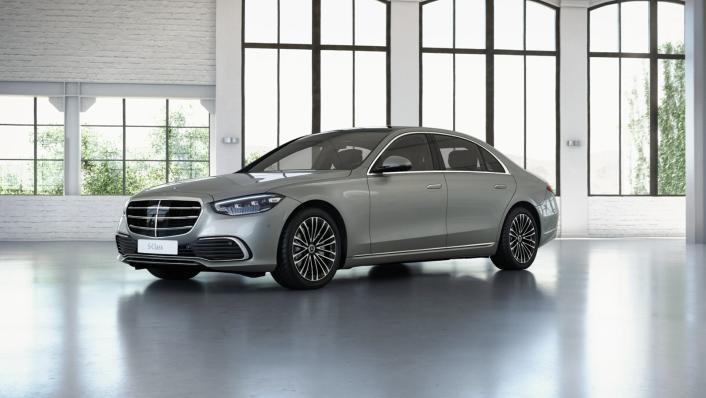 2021 Mercedes-Benz S-Class S 350 d Exclusive Exterior 009