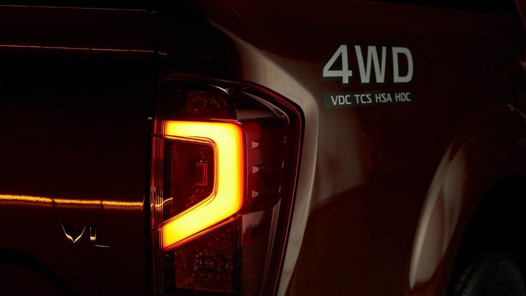 2021 Nissan Navara Double Cab 2.3 4WD VL 7AT Exterior 083