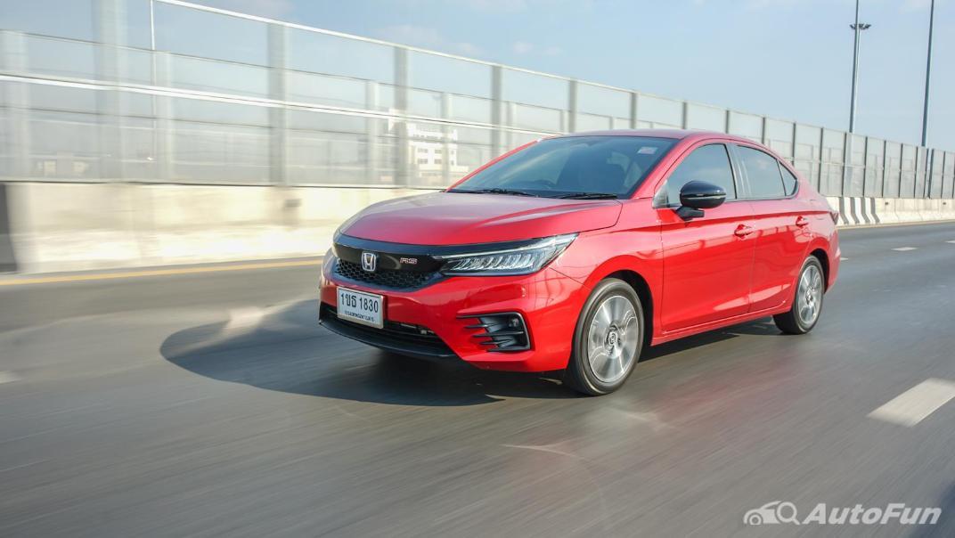 2021 Honda City e:HEV RS Exterior 046