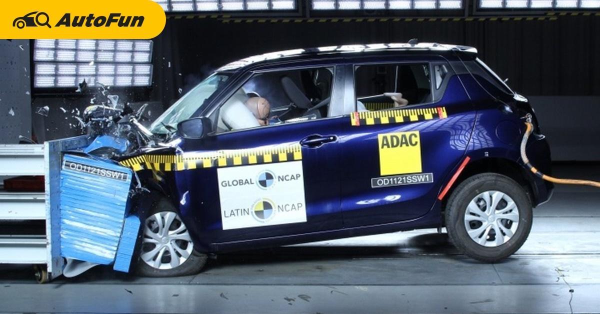 ทำไม Suzuki Swift เวอร์ชั่นอินเดียได้ 0 ดาวจาก Latin NCAP ทั้งที่ได้ 4 ดาวจากอาเซียน 01