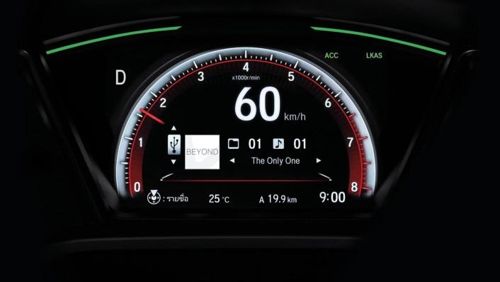 Honda Civic 2020 Interior 004