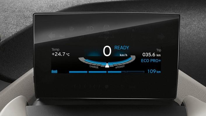 BMW I3S 2020 Interior 003