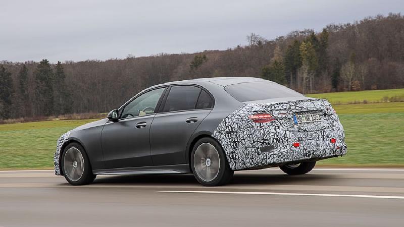 2022 Mercedes-AMG C63 ยอมทิ้งเครื่อง V8 มาใช้เบนซิน 4 สูบไฮบริด ขาซิ่งจะรับได้มั้ย? 02