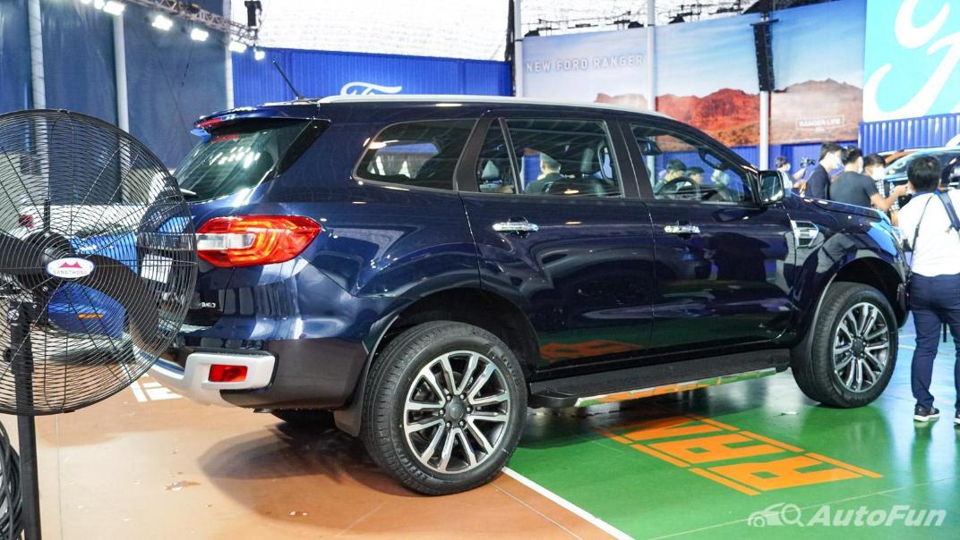2021 Ford Everest Titanium+ Exterior 008