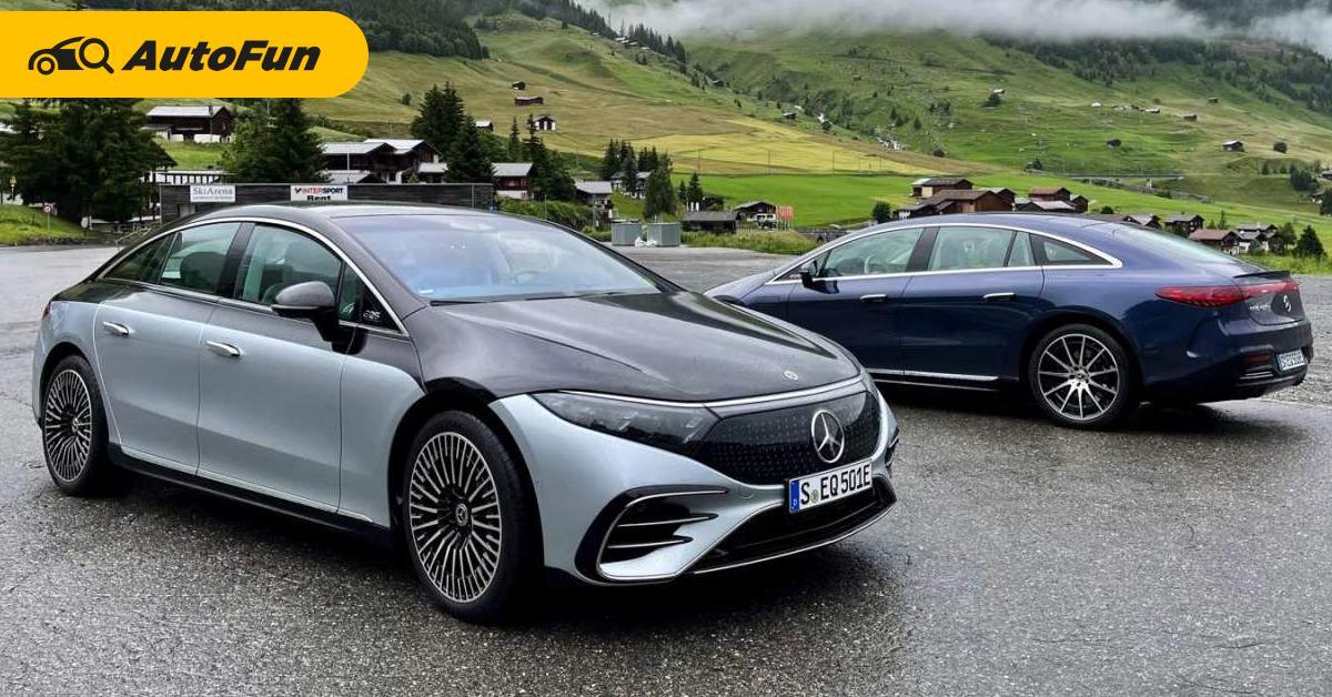 Mercedes-Benz ยืนยันเปิดตัวรถใหม่เพียบปีนี้ นำโดย 2022 Mercedes-Benz EQS 01