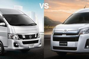 Toyota Commuter 2019 VS Nissan NV350 Urvan 2019